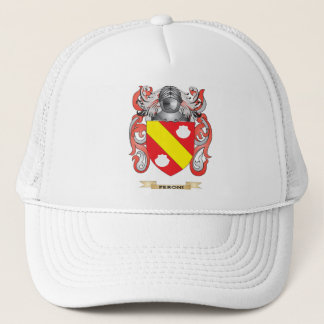 Peroni Coat of Arms (Family Crest) Trucker Hat