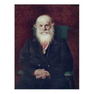 Perov-Portrait de Vasily d'historien Mikhail Pogod Cartes Postales