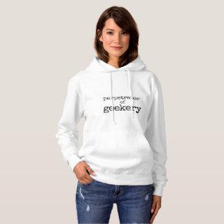 Perpetrator of Geekery Women's Hoodie