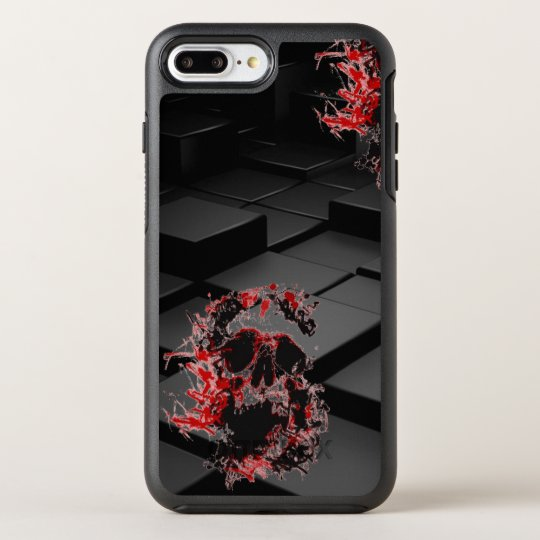 Perplex Skull iPhone OtterBox 7 Plus Symmetry Case