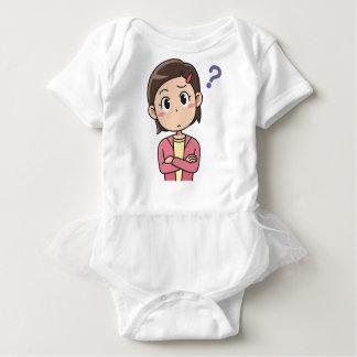 Perplexed Baby Bodysuit