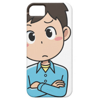 Perplexed Boy Case For The iPhone 5