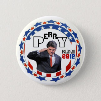 Perry for Prez in 2012 2 Inch Round Button