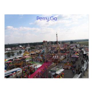Perry,Ga Postcard