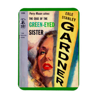 Perry Mason Case of the Green-Eyed Sister Rectangular Photo Magnet