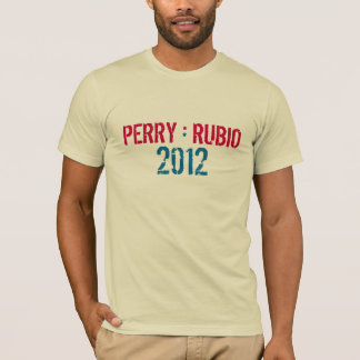 PERRY * RUBIO 2012 Campaign T-Shirt