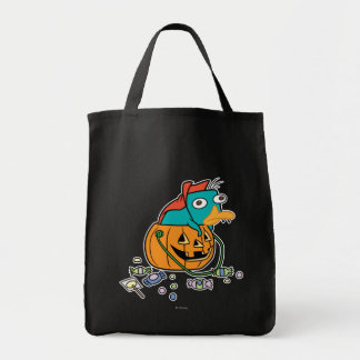 Perry the Platypus in Pumpkin