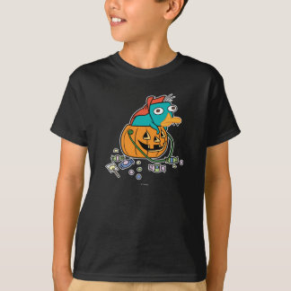 Perry the Platypus in Pumpkin Tee Shirts