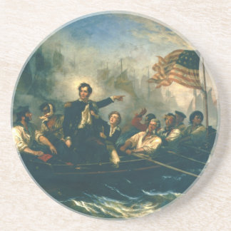 Perry's Victory by William Powell from 1865 Drink Coaster