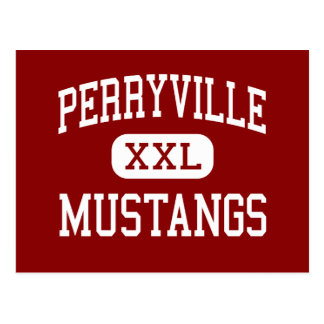 Perryville - Mustangs - Senior - Perryville Post Card