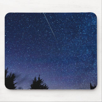 Perseid Meteor Shower Mouse Pad
