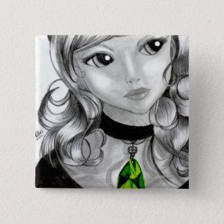 Persephone 2 Inch Square Button