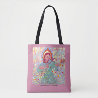 Persephone Brings the Spring tote bag
