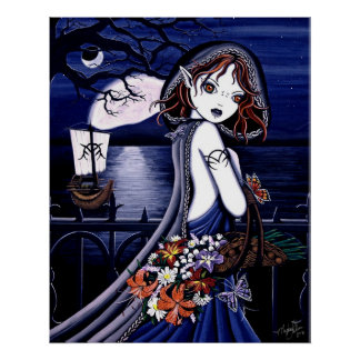 """Persephone"" Dark Underworld Poster"