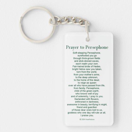 Persephone Keychain