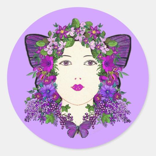 Persephone Lilac Sticker