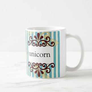 Persephone Magazine Unicorn coffee mug
