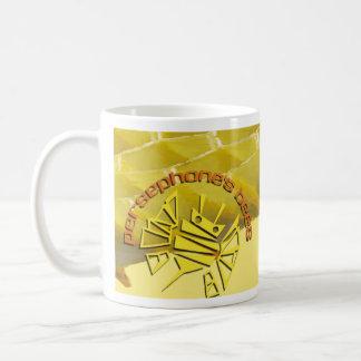persephones bees classic white coffee mug