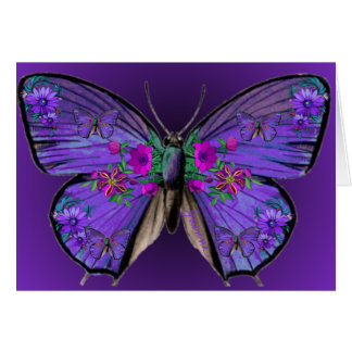 Persephone's Butterfly Blank Card