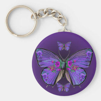 Persephone's Butterfly Keychain