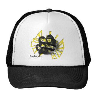 persephonesbees-overlay trucker hat
