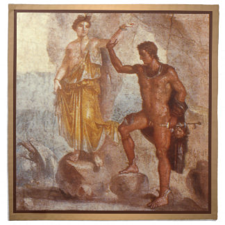 Perseus and Andromeda Napkin