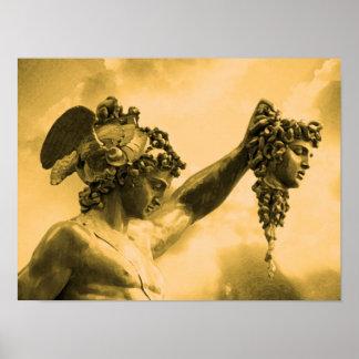 Perseus vs Medusa Poster