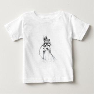 Perseverance, A Siberian Husky Baby T-Shirt