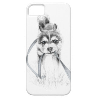 Perseverance, A Siberian Husky iPhone 5 Cover