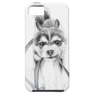 Perseverance, A Siberian Husky iPhone 5 Covers