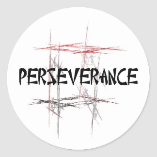 Perseverance Stickers
