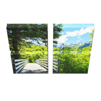 Perseverance Trail #1 16x20 Canvas Print