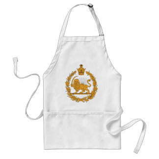 Persia Coat Of Arms Standard Apron
