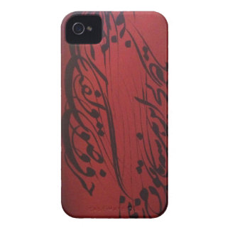 Persian Calligraphy Poem iPhone 4 Case