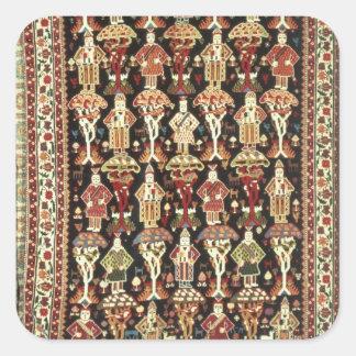 Persian carpet, 19th-20th century square sticker