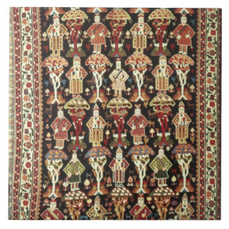 Persian carpet, 19th-20th century tile