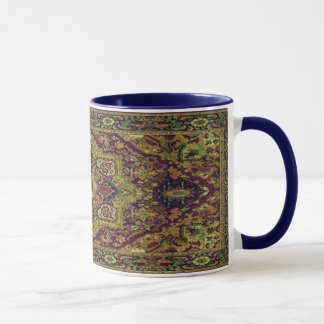Persian Carpet in Green Mug