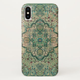 Persian Carpet Motive Vintage Floral Design iPhone X Case