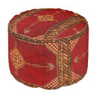 Persian carpet pattern pouf