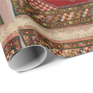 Persian carpet wrapping paper