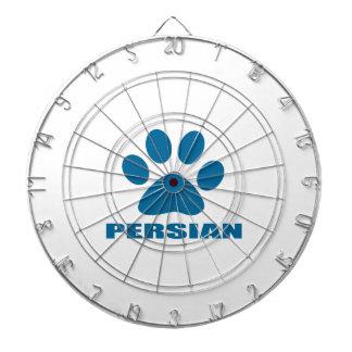 PERSIAN CAT DESIGNS DARTBOARD
