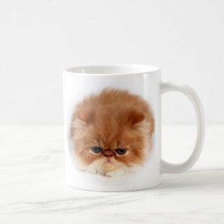 Persian Cat Face Coffee Mug