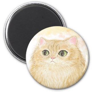 Persian Cat Illustration Magnets