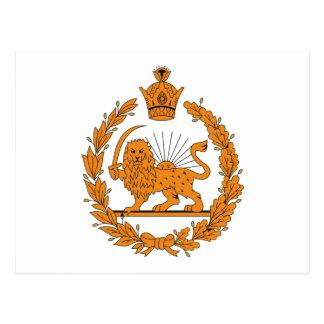 Persian Coat of Arms Postcard