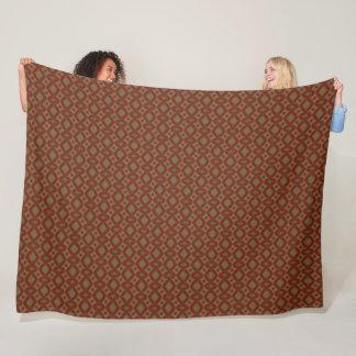 Persian Fire Element Plush Pattern Fleece Blanket