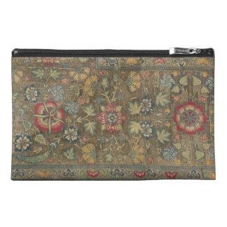 Persian Green Floral Organizer Travel Accessory Bag