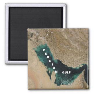 Persian Gulf Square Magnet