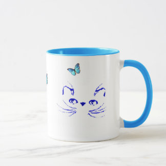 Persian Kitty Daydreams Mug