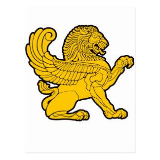 persian lion postcard