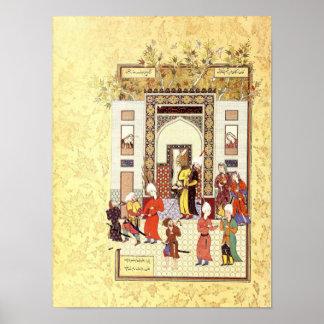 Persian Miniature: Yusuf's Innocence Poster